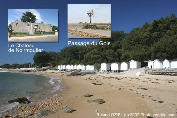 Plages de Noirmoutier Vendée