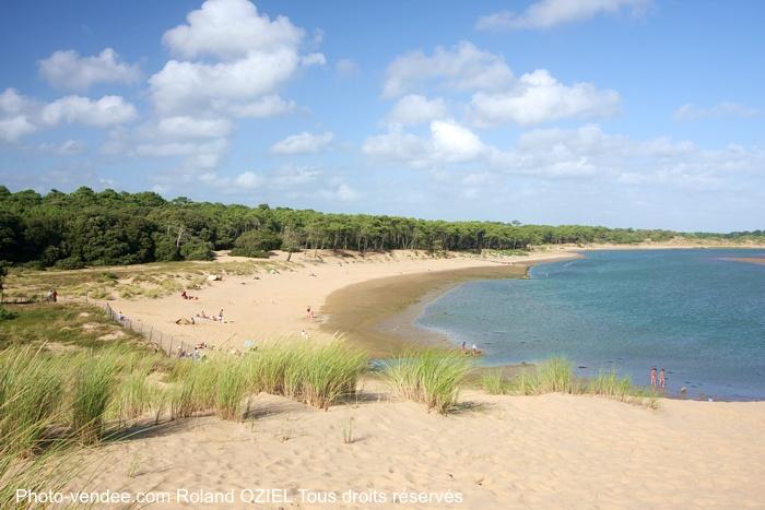 Plages du Veillon entre Jard sur Mer et Talmont Saint Hilaire