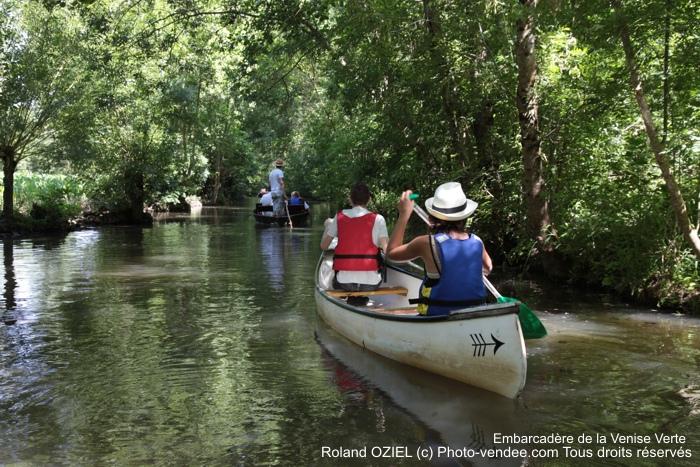 Balade en canoe sur la Venise Verte du Marais Poitevin
