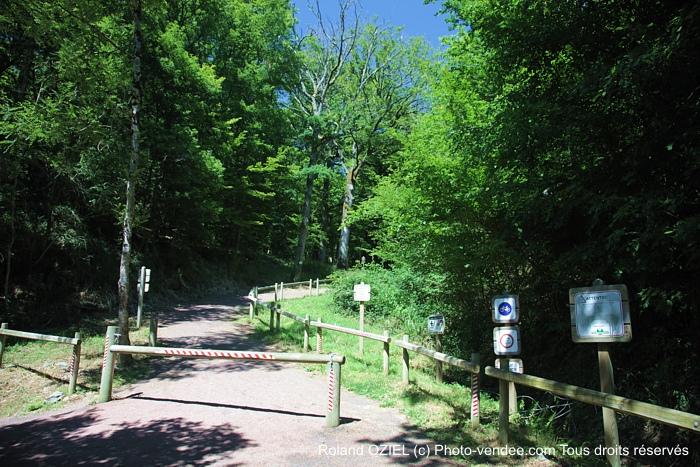 Sentiers de randonnée entièrement balisés
